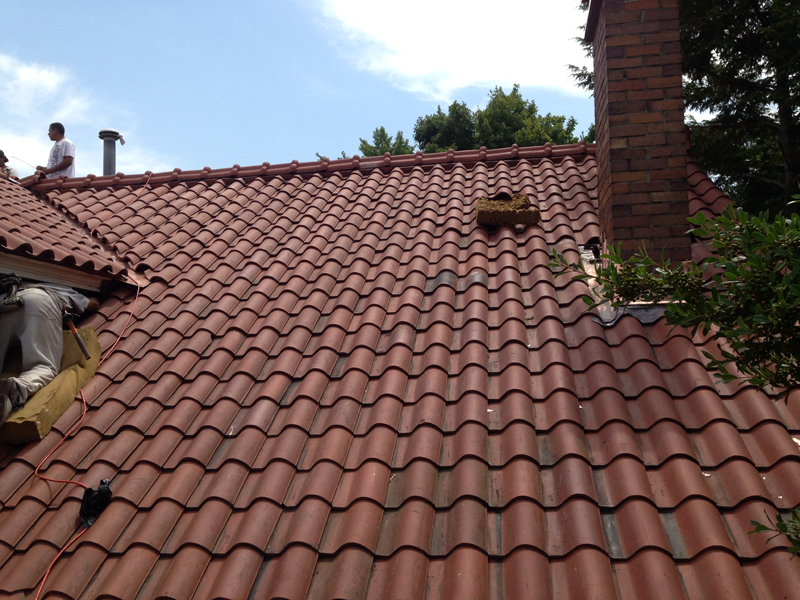 Carlon Roofing Sheet Metal Ludowici Spanish Tile Roof
