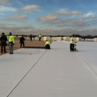 Commercial Roof – GAF Single Ply Thermal Roof