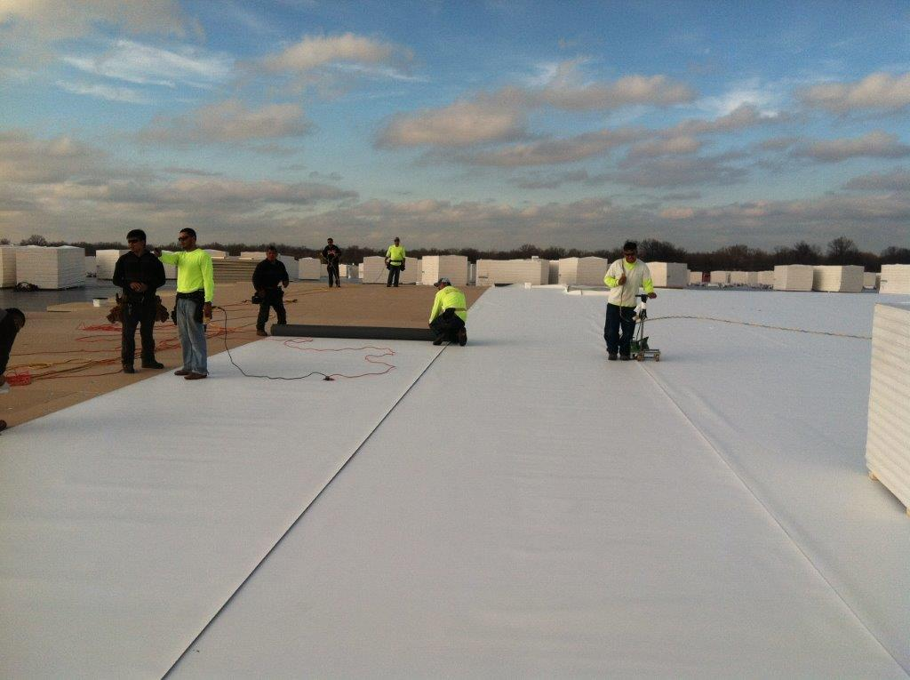 Commercial Roof U2013 GAF Single Ply Thermal Roof