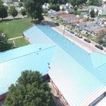 Atkinson School Metal Roof