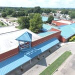 Atkinson School Metal Roof
