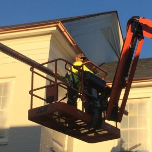 Copper Gutters Installation