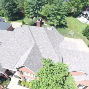 Gray Owens Corning Oakridge shingle