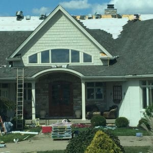 Tamco Wood Shingle Installation