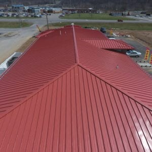 Park Duvalle Health Center Metal Roof
