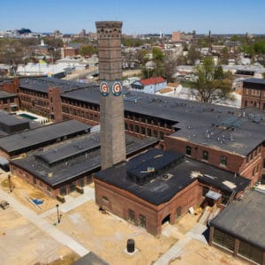 Germantown Mills Loft Roof