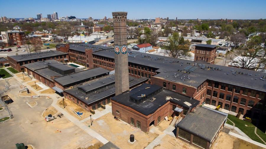 Germantown Mills Loft Roof
