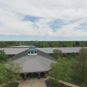 Goshen Elementary School Roof View