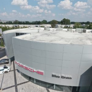 New Porcshe Building Roof