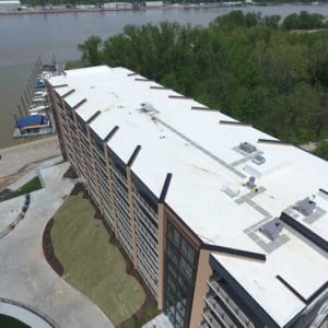 River Park Apartments Commercial Roof