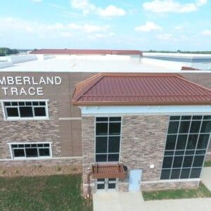 Cumberland Trace School Metal Roof